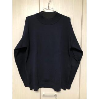 ムジルシリョウヒン(MUJI (無印良品))の[¥2000セール] MUJI ウール混ダブルフェイスハイネックセーター(ニット/セーター)