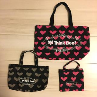 Think Bee! - 新品!シンクビー サブバッグ エコバッグ ポーチ  保存袋 トートバッグ