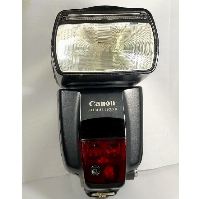 Canon(キヤノン)のCanon SPEEDLITE 580EXⅡ ストロボ スマホ/家電/カメラのカメラ(ストロボ/照明)の商品写真