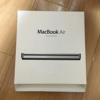 MacBook Air super drive 新品未使用