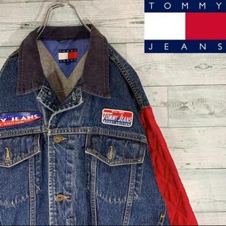 TOMMY HILFIGER - 《激レア》トミージーンズ 90s デニムジャケット キルティング 古着