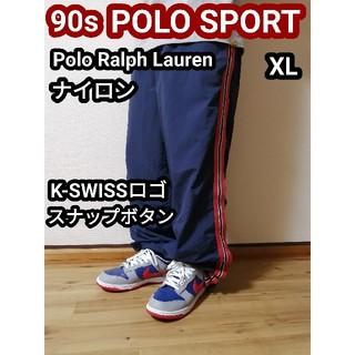 POLO RALPH LAUREN - ラルフローレン ポロスポーツ polosport  ナイロンパンツスナップボタン