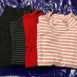 ユニクロ(UNIQLO)のkids 130cm4枚セット❣️値下げ❣️(Tシャツ/カットソー)