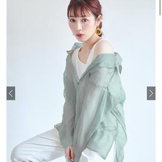 グレイル(GRL)の同時購入1400円 グレイル シアーオーバーシャツ[ydm184] タグなし(シャツ/ブラウス(長袖/七分))