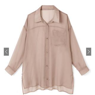 グレイル(GRL)の同時購入1400円 グレイル シアーオーバーシャツ[ydm184] モカ(シャツ/ブラウス(長袖/七分))