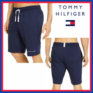 トミーヒルフィガー(TOMMY HILFIGER)の日本未入荷★トミー フィルフィガー ショート スウェット パンツ US/Sサイズ(ショートパンツ)