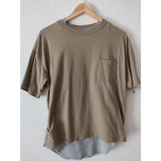 フリークスストア(FREAK'S STORE)のレイヤードTシャツ(Tシャツ+タンクトップ)(Tシャツ/カットソー(半袖/袖なし))