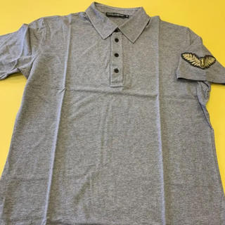 ドルチェアンドガッバーナ(DOLCE&GABBANA)のドルチェ&ガッバーナ DOLCE&GABBANA ポロシャツ ミディアムグレー(ポロシャツ)