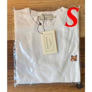 【新品】メゾンキツネ Tシャツ ホワイト S MAISON KITSUNE