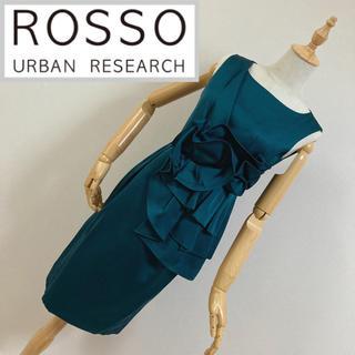 アーバンリサーチロッソ(URBAN RESEARCH ROSSO)のアーバンリサーチロッソ ノースリーブワンピース(ひざ丈ワンピース)