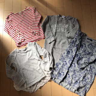 プティマイン(petit main)の女児120セット(Tシャツ/カットソー)