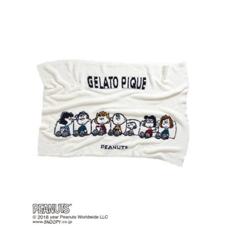 gelato pique - GELATO PIQUE ジェラートピケ ジェラピケ スヌーピー ブランケット