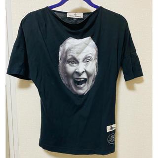 Vivienne Westwood - vivienne westwood☆フェイスTシャツ☆ブラック
