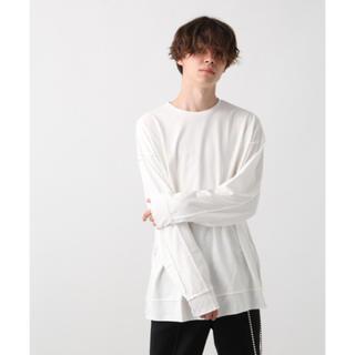 ハレ(HARE)のHARE バックデザインカットソー Tシャツ(Tシャツ/カットソー(七分/長袖))