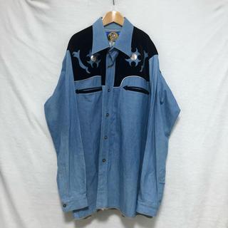 トーガ(TOGA)のvintage ウエスタンシャツ XL(シャツ)