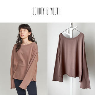BEAUTY&YOUTH UNITED ARROWS - 19AW BEAUTY&YOUTH コットンルーズカットソー