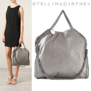 Stella McCartney - 【極美品】ステラマッカートニー ファラベラフォールドオーバートートバッグ グレー