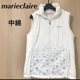 マリクレール(Marie Claire)のmarieclaire マリクレール レディース L 中綿 ベスト パーカー(ウエア)