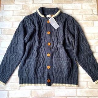 ビームス(BEAMS)の新品!ビームス!毛糸編み厚手カーディガン!BEAMS!(カーディガン)