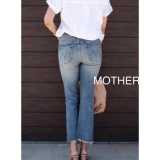 mother - 【新品】MOTHER Insider Crop マザー インサイダー 28