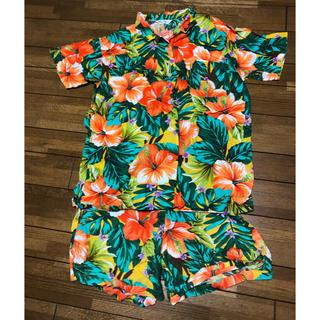 セシール(cecile)のセットアップアロハシャツ(パジャマ)