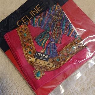 セリーヌ(celine)のCELINE セリーヌ 未使用ハンカチ スカーフ(バンダナ/スカーフ)