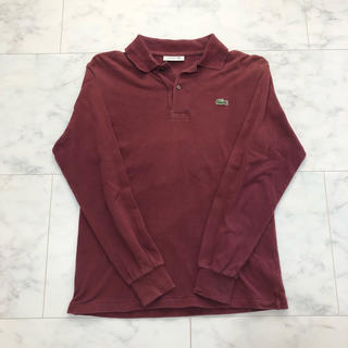 LACOSTE - LACOSTE/ラコステ  長袖ポロシャツ