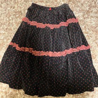 アンクルージュ(Ank Rouge)のヴィンテージ レトロ スカート(ひざ丈スカート)