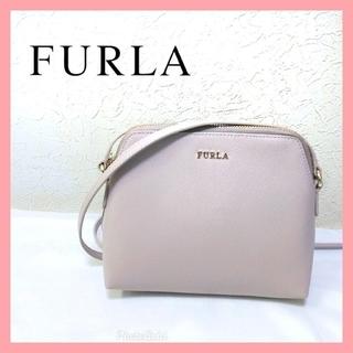 フルラ(Furla)の【美品】フルラ くすみピンク ショルダーバッグ ポシェット(ショルダーバッグ)