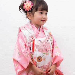 七五三 3歳 女の子 着物 被布 セット 新品(和服/着物)