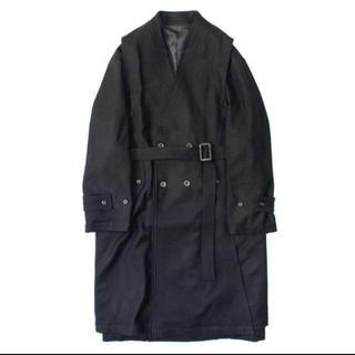サンシー(SUNSEA)のstein Oversized Liner No Collar Coat(チェスターコート)