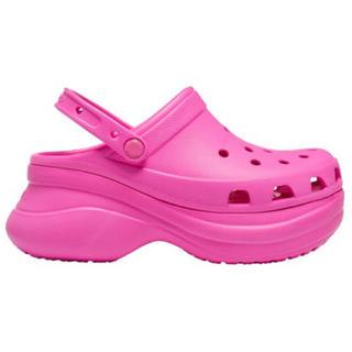 crocs - 厚底クロックス 約25cm
