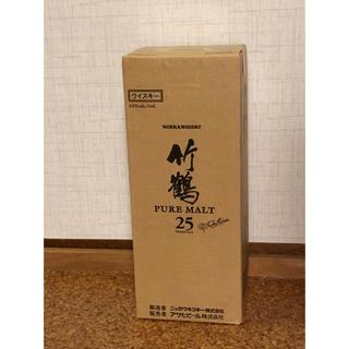 ニッカウヰスキー - 竹鶴25年 箱付き  コメントご遠慮ください