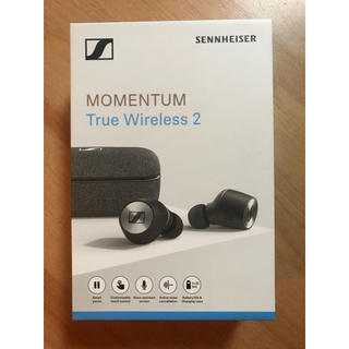 ゼンハイザー(SENNHEISER)のゼンハイザー momentu true wireless2(ヘッドフォン/イヤフォン)