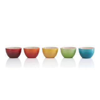 ルクルーゼ(LE CREUSET)の★新品★ル・クルーゼ ライスボウル 5個セット 皿 茶碗(食器)