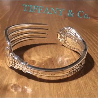 Tiffany & Co. - ティファニー フォークバングル「Old French」