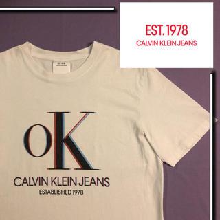 カルバンクライン(Calvin Klein)の【美品】EST.1978 CALVIN KLEIN  tシャツ (Tシャツ/カットソー(半袖/袖なし))