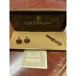 グッチ(Gucci)のGucci・カフスボタンとネクタイピンセット(ネクタイピン)