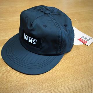 バンズボルト(VANS VAULT)の【新品】VANS バンズ 帽子 キャップ 黒 フリーサイズ(キャップ)