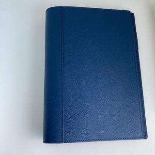 フランクリンプランナー(Franklin Planner)の未使用 フランクリンプランナー 手帳カバー ネイビーブルー(手帳)