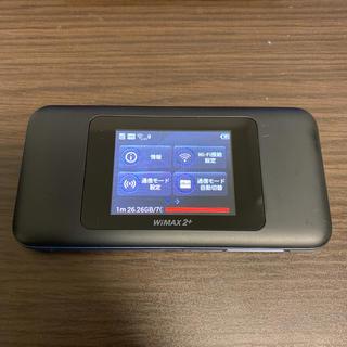 au - モバイルルーター○ Speed Wi-Fi NEXT W06 au
