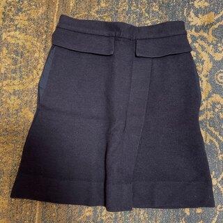 マークバイマークジェイコブス(MARC BY MARC JACOBS)のマークバイマークジェイコブス 台形ペプラムスカート(ひざ丈スカート)