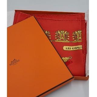 エルメス(Hermes)のエルメス カレ90 スカーフ LES CAVALIERS D'OR(黄金の騎士)(スカーフ)