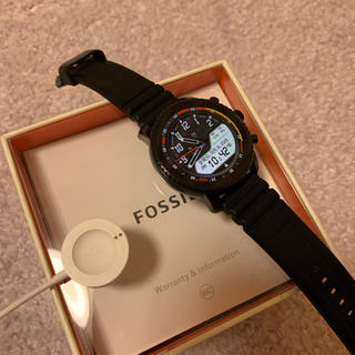フォッシル(FOSSIL)の【s_y 専用】FOSSIL Q EXPLORIST FTW4018(腕時計(デジタル))