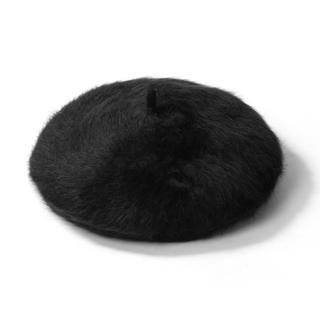 グレイル(GRL)のアンゴラベレー帽(ハンチング/ベレー帽)