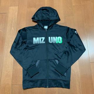 ミズノ(MIZUNO)のミズノ 裏起毛パーカー ブラック(ジャケット/上着)