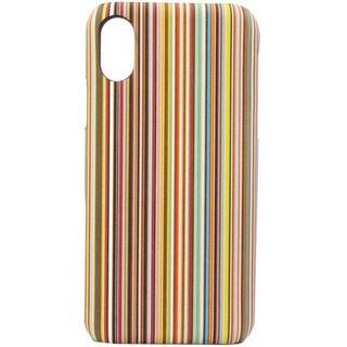 ポールスミス(Paul Smith)の新品 本革 iphone ケース X XS レザー(iPhoneケース)