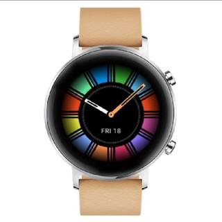 Huawei Watch GT2 42mm ベージュ(腕時計(デジタル))