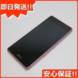 フジツウ(富士通)の新品同様 SIMフリー arrows M03 ピンク (スマートフォン本体)