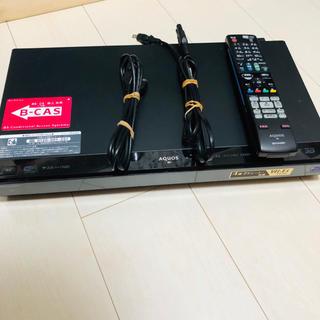 SHARP - BD-W1000 SHARP Blu-rayレコーダー